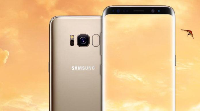 Samsung Galaxy S8 Plus gold