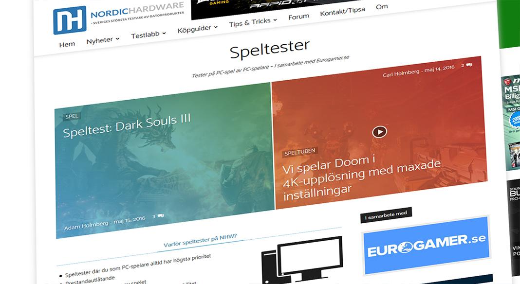 NordicHardware speltester