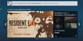 Steam uppdatering