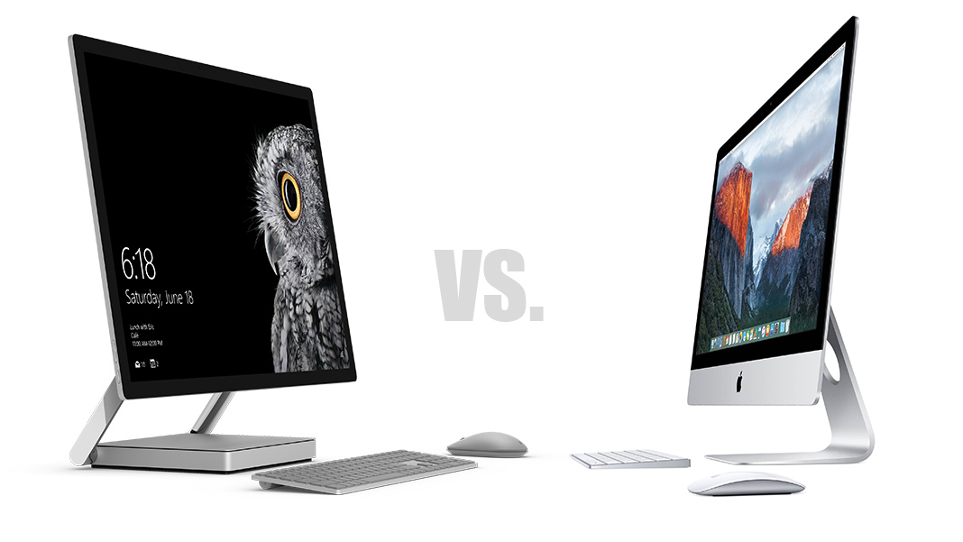 Surface Studio eller Imac