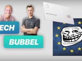 Techbubbel om EU