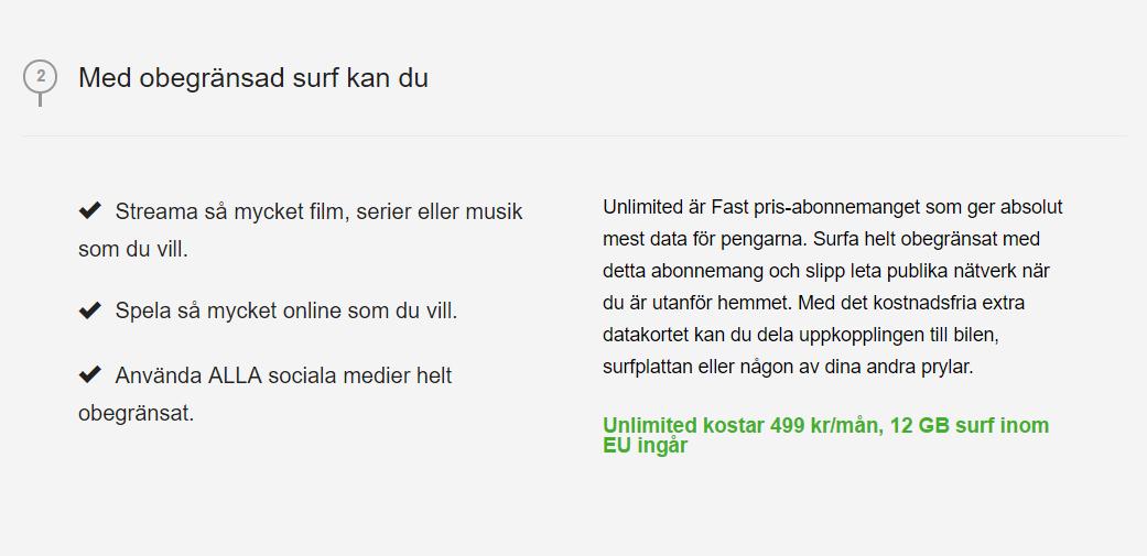 Tele2 Unlimited