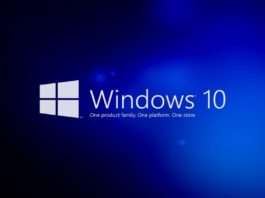 Microsoft Windows 10 lagringsutrymme
