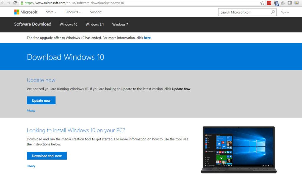 Windows-10-update-manuellt