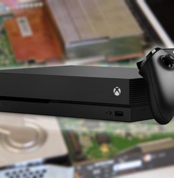 Xbox One X dissekerad