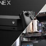 Xbox One X bygga som PC