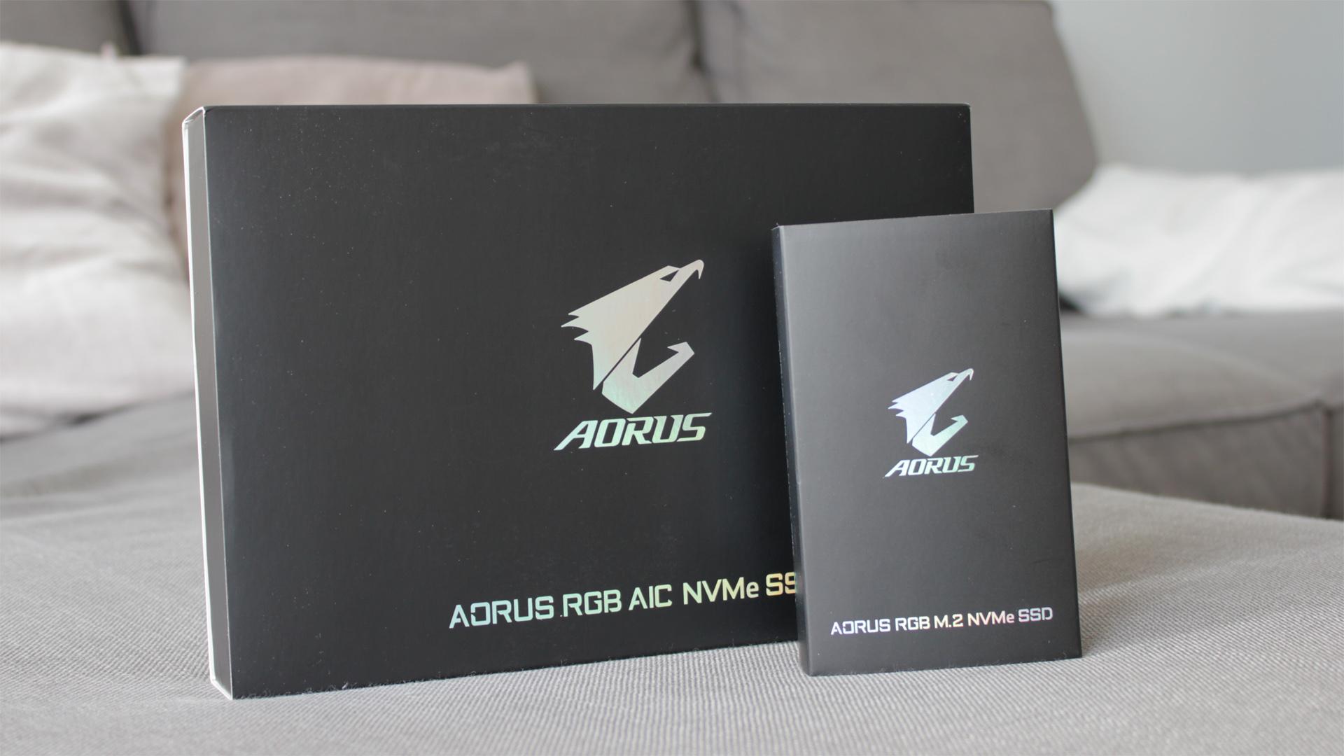 Gigabyte Aorus RGB SSD