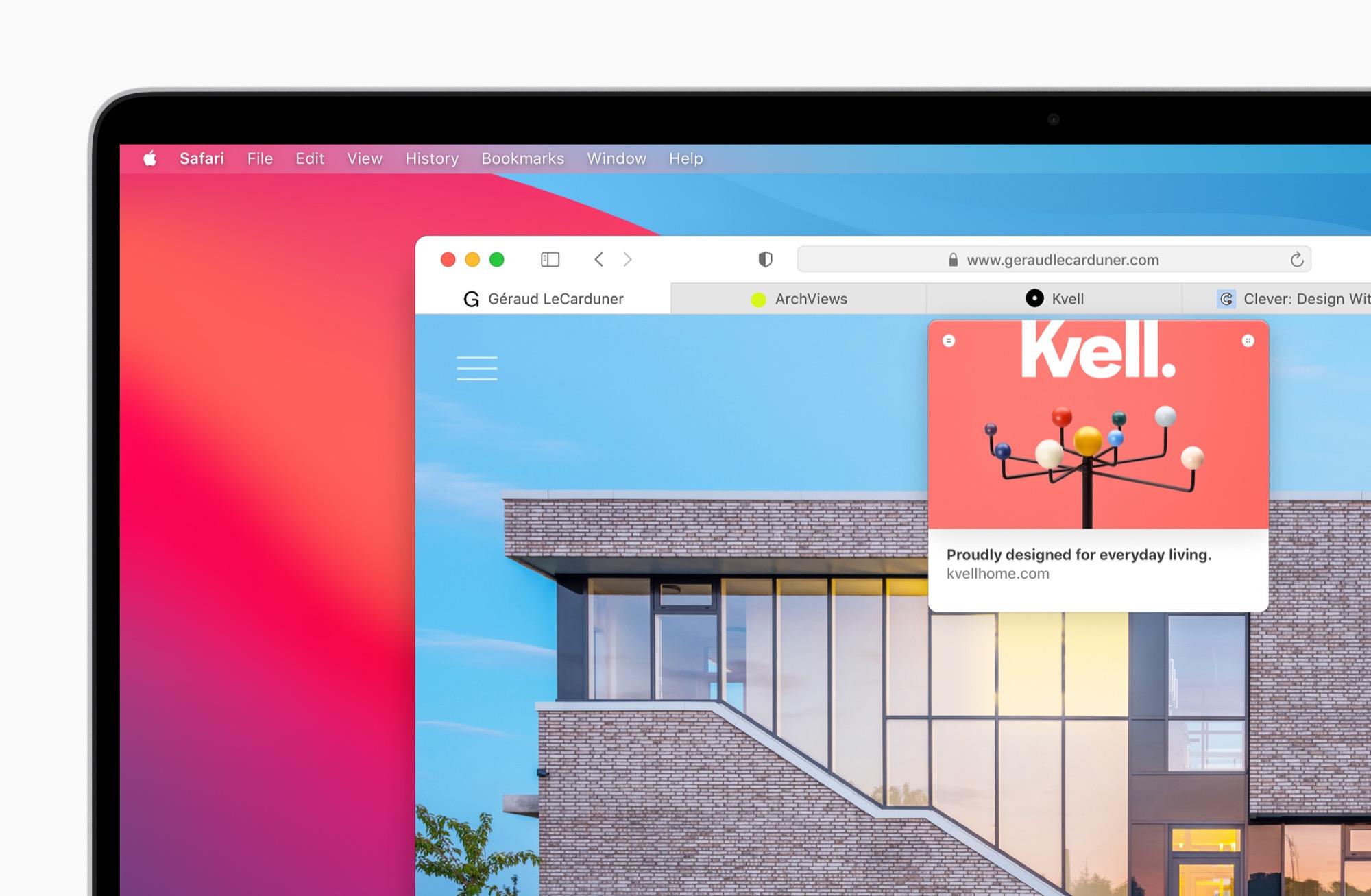 Mac OS Big Sur tar inspiration från iOS och iPad OS