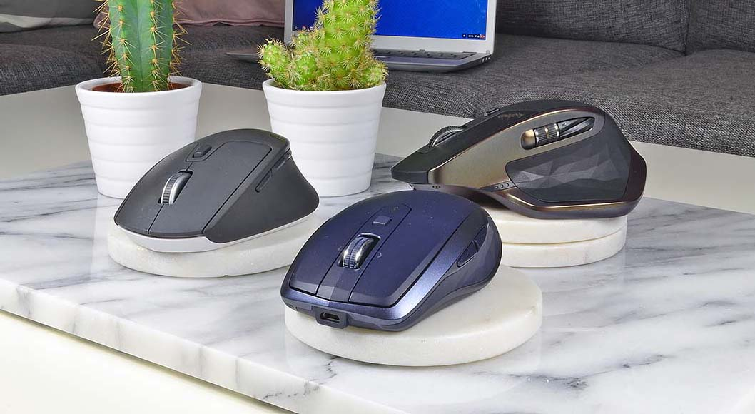 Test  Tre multimöss från Logitech - Styr tre datorer med samma mus ff76a5865ebf4