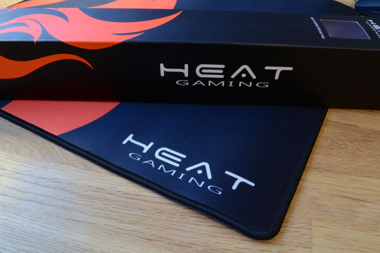 heat gaming mouse pad