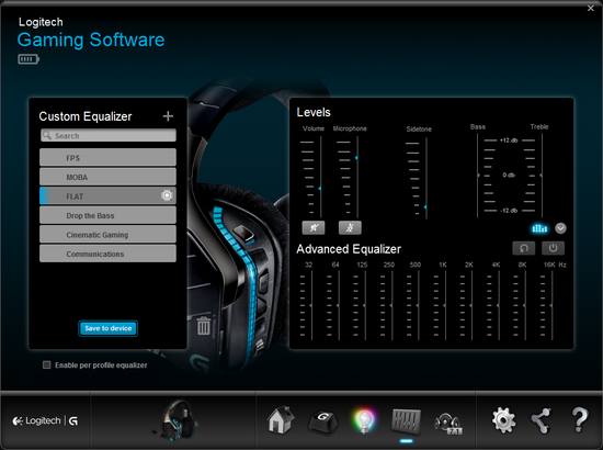 logitech g933 software 2