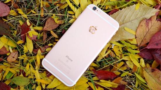 Apple Iphone 6S Recension baksida