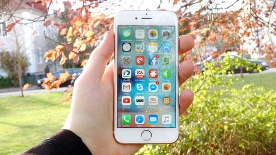 Apple Iphone 6S Recension forsta