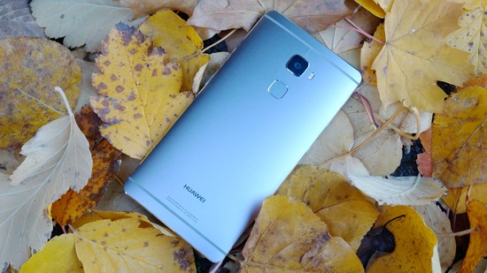 Huawei Mate S Recension baksida