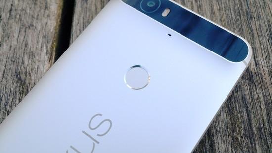 Huawei Nexus 6P Recension fingeravtryck 2