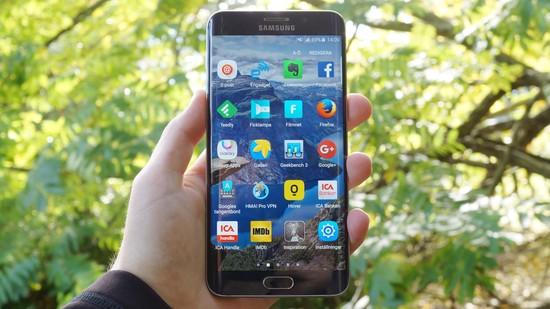 Samsung Galaxy S6 EdgePlus Recension forsta