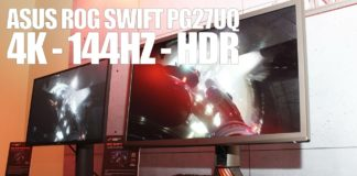 Asus ROG PQ27UQ 4K 144 Hz HDR G-sync