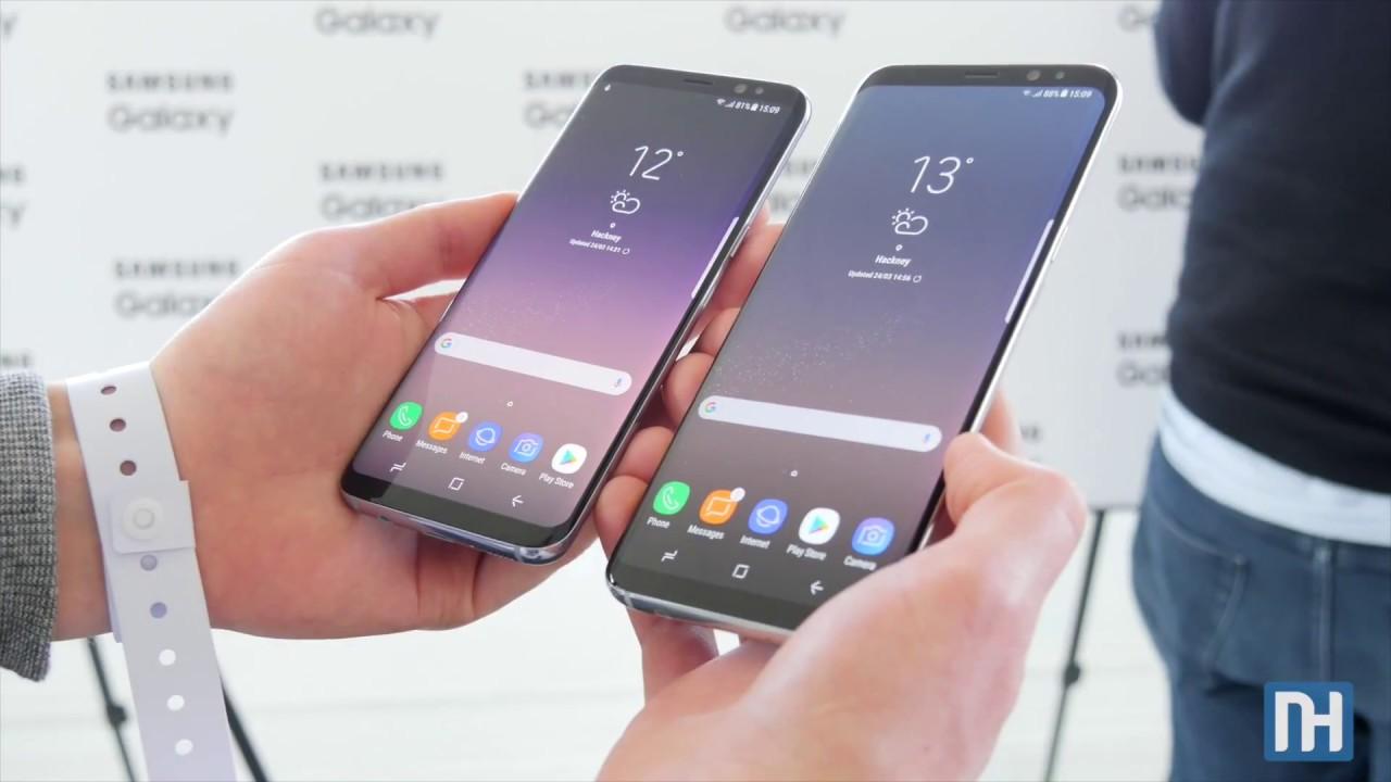 Galaxy S8 och S8+ i exklusiv videohandson - Allt du behöver veta 7c0ebcc5a9738