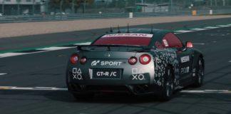 Nissan GT-R PS4 handkontroll