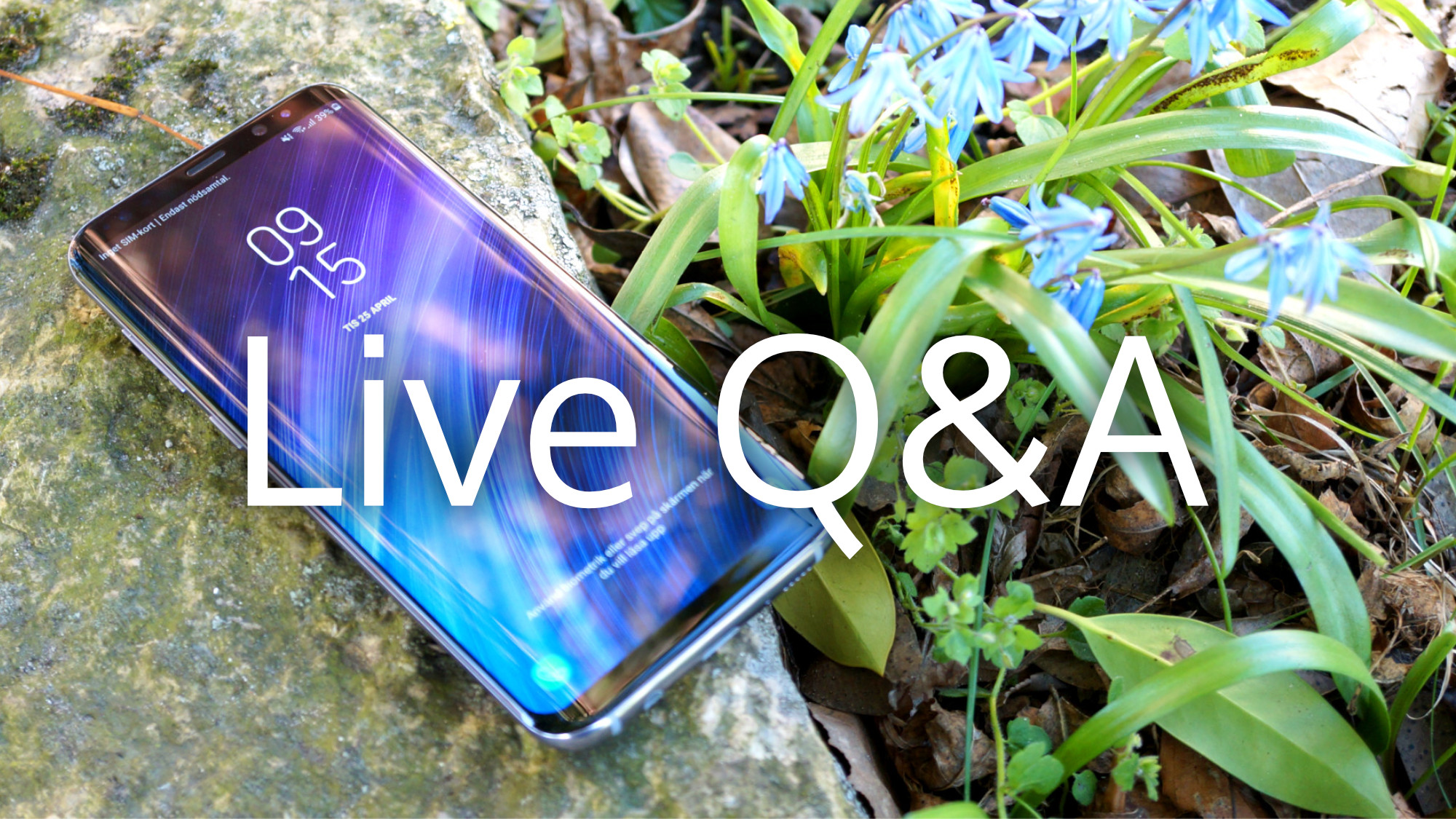 Samsung Galaxy S8+ Live