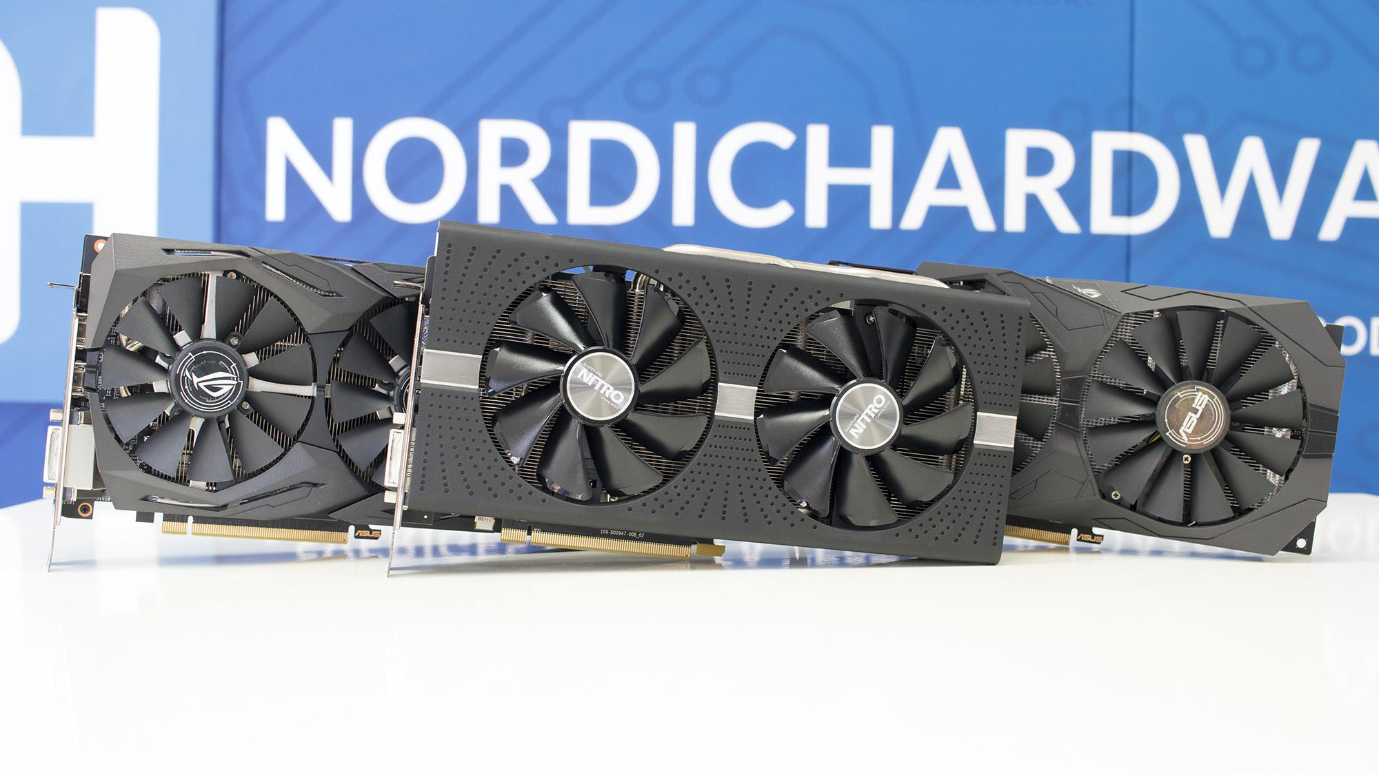 Test: AMD Radeon RX 580 och RX 570 från Asus och Sapphire