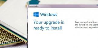 win10 upgrade cpu